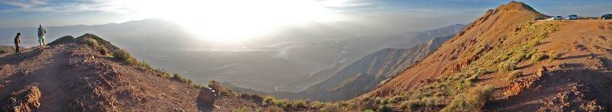 Dante S View Death Valley Overlook - Panorama Stock Photo
