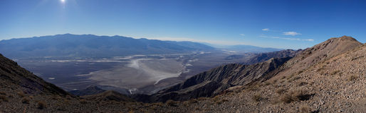 Dante's View panorama, Death Valley National Park Stock Photo