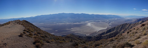 Dante's View panorama, Death Valley National Park Stock Photos