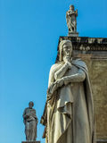 Dante sculpture in Verona, Italy Royalty Free Stock Photos