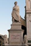 Dante Statue Lizenzfreie Stockfotografie
