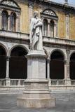Dante statue in Verona Royalty Free Stock Image