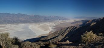Dante view. View from death valley at dante's point Stock Image