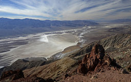 Dante& x27 ; vue de s, Death Valley Photo libre de droits