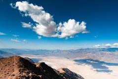 dantes śmiertelnej doliny widok Fotografia Stock