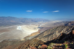 Dantes sikt, Death Valley Arkivfoto