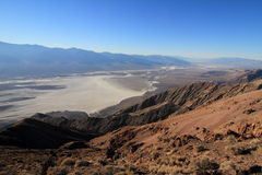 Dantes View. Death Valley from Dantes View, California Stock Photos