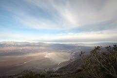 Dantesmening, het Nationale Park van de Doodsvallei, Californië, de V.S. Stock Foto's