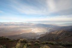 Dantesmening, het Nationale Park van de Doodsvallei, Californië, de V.S. Stock Foto