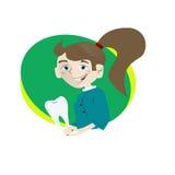 Dantist-Frau Lizenzfreies Stockfoto