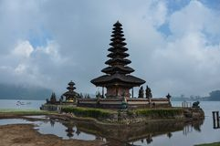 Danu del ulun del tempio fotografia stock libera da diritti