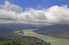 Danube. Royalty Free Stock Photos