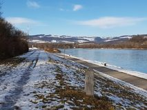 Danube bleu images stock