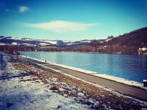 Danube bleu photos stock