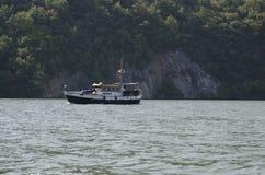 Danube boat Royalty Free Stock Photos