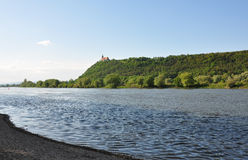 Danube with Bogenberg, Bavaria Stock Image