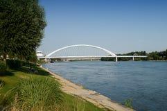 Danube in Bratislava Royalty Free Stock Photos