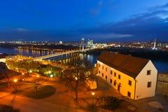 Danube in Bratislava. Royalty Free Stock Photos