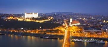 Danube in Bratislava. Royalty Free Stock Image