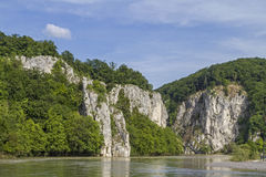Danube breakthrough Royalty Free Stock Image