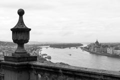 The Danube and Budapest Parliament Building Royalty Free Stock Photos