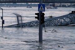 Danube in Budapest Royalty Free Stock Photo