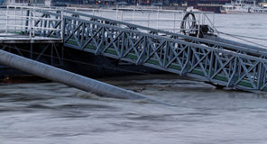 Danube in Budapest Stock Photography