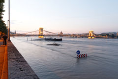 Danube in Budapest Royalty Free Stock Images