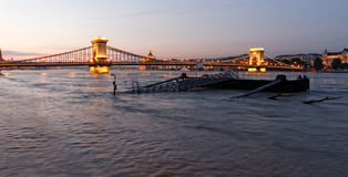 Danube in Budapest Stock Photos