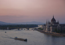 Danube in Budapest Royalty Free Stock Photography