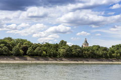 The Danube at Budapest. Royalty Free Stock Photo