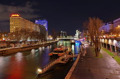 Danube Canal Royalty Free Stock Photography