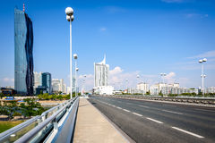 Danube City, Vienna, Austria Royalty Free Stock Image