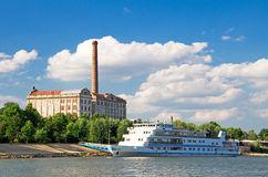Danube cruise Royalty Free Stock Photo