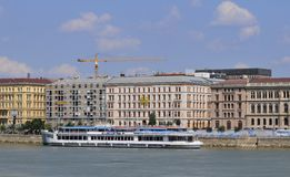Danube Cruise in Budapest Stock Photo