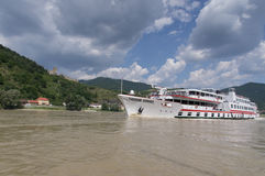 Danube cruises Royalty Free Stock Image