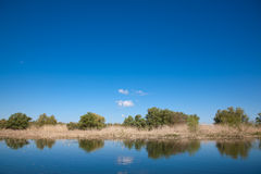 Danube Delta. Beautiful landscape from the Danube Delta Biosphere Reserve in Romania Royalty Free Stock Images