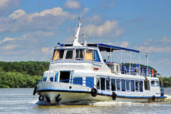 Danube Delta boat trip Royalty Free Stock Photos