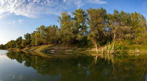 Danube delta landscape. In summer royalty free stock images