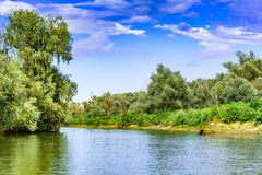 Danube Delta, Romania. Second largest river delta in Europe royalty free stock images
