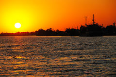 Danube Delta. The Danube Delta is the second largest river delta in Europe, after Volga Delta, and is the best preserved on the continent. The greater part of Royalty Free Stock Photos