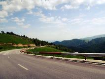 Danube delty zmierzch Zdjęcie Royalty Free