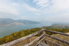 Danube in Djerdap national park Stock Image