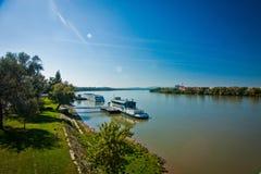 Danube, Esztergom Stock Photo