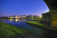 danube flod Arkivfoto