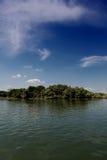 Danube flod Royaltyfri Fotografi
