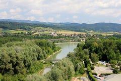 danube flod Arkivbilder