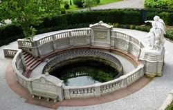 Danube fount. In donaueschingen in south germany Stock Images