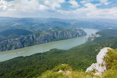 Danube gorge Royalty Free Stock Image
