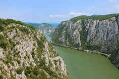 The Danube Gorge - Cazanele Dunarii Stock Photos